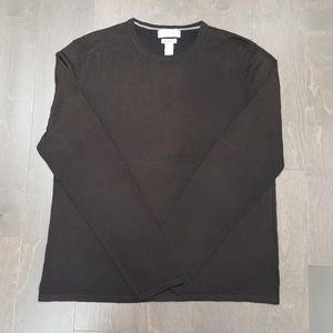 Men's Brown Banana Republic Silk Cashmere Sweater